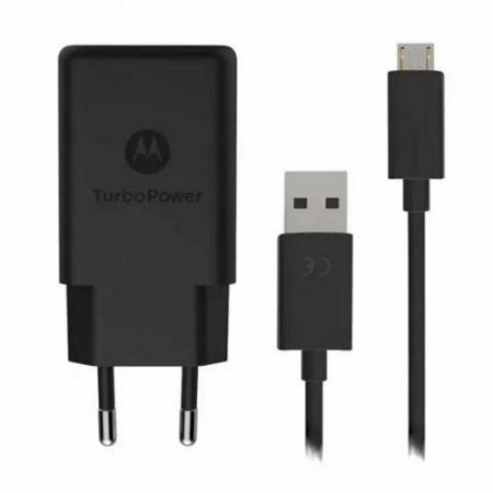 Carregador Motorola turbo power micro USB para Moto G2 G3