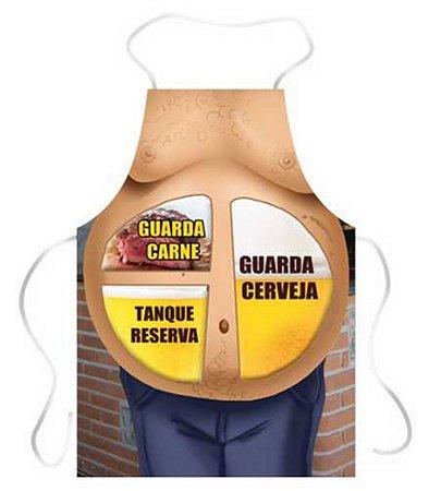 Avental barriga guarda cerveja