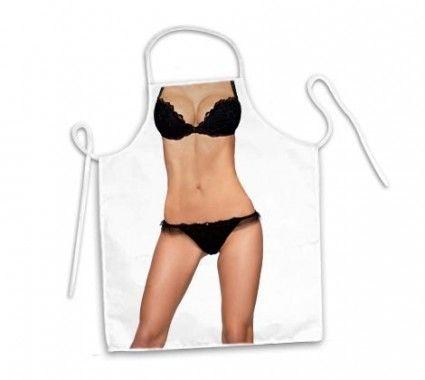 Avental corpo lingerie