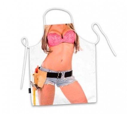 Avental corpo mulher faz tudo