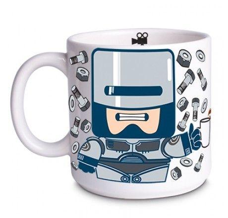 Caneca robô coffee