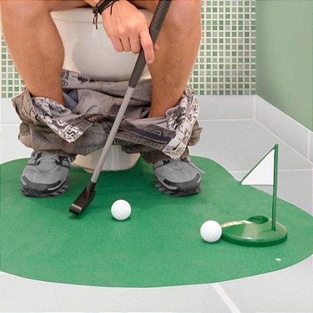 Jogo de golf de banheiro
