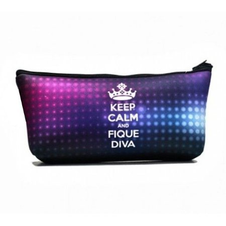 Necessaire keep calm and fique diva