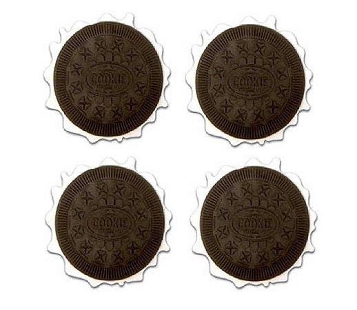 Porta copos cookies