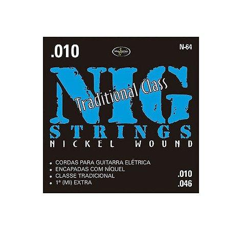 Encordoamento Guitarra NIG N64 0.10