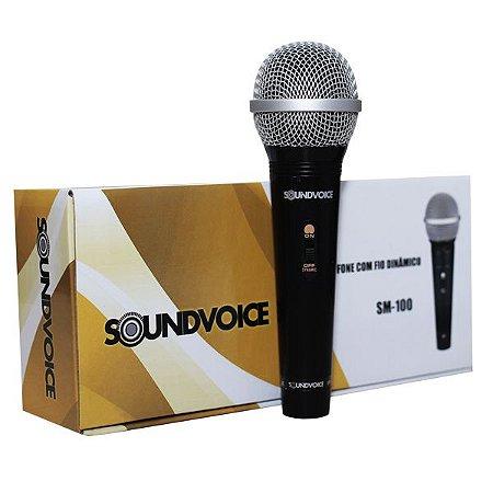 Microfone Com Fio SoundVoice SM100