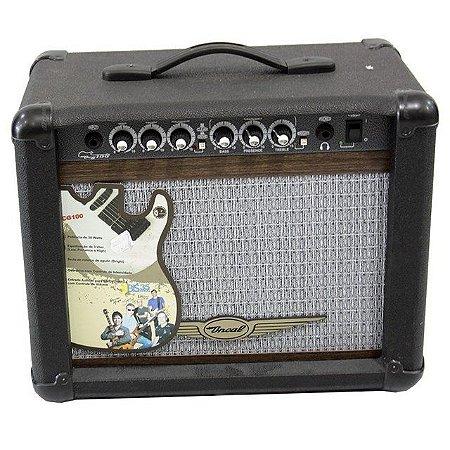 Cubo Guitarra Oneal 40W OCG-50 CR Preto