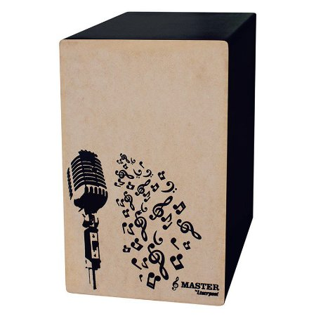 Cajon Eletrico Master - Microfone