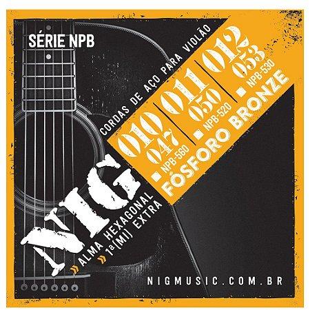 Encordoamento NIG NPB560 Violao FOSFORO BR.  010