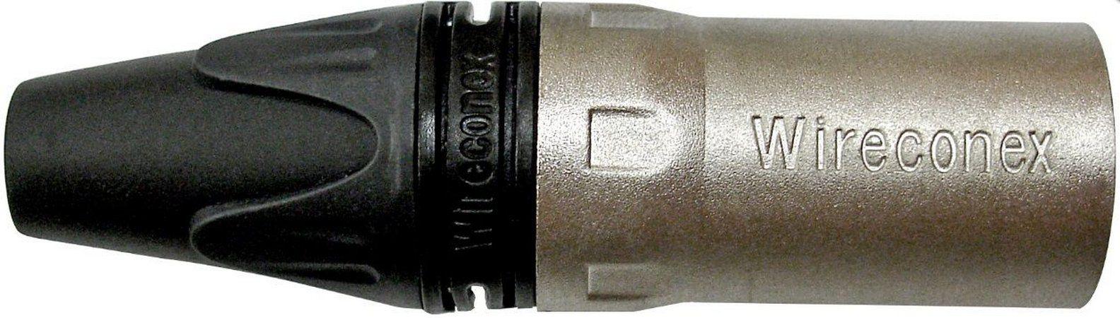 Plug Wireconex XLR Macho Linha WC1013
