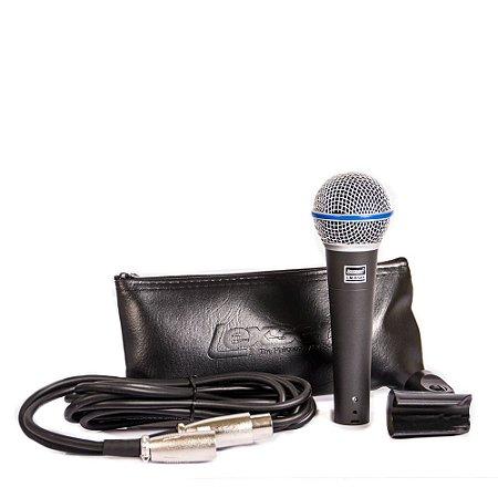 Microfone Com Fio Super Lexsen LM-B58A