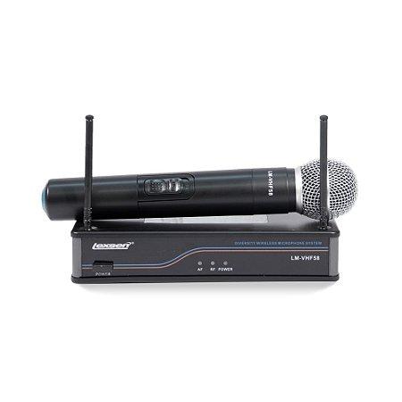 Microfone Sem Fio Lexsen LM-VHF58