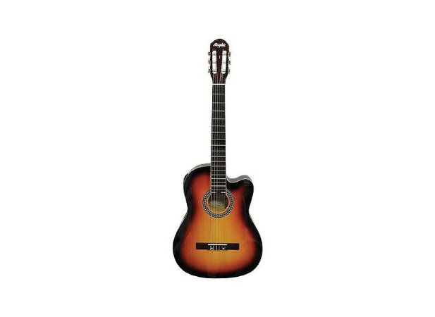 Violao Memphis Nylon Eletrico AC-60 Sunburst