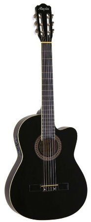Violao Memphis Nylon Eletrico AC-60 Preto