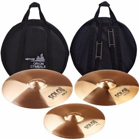 "Set Prato Orion SP90 Kit 14"" 16"" 20"" Com Bag"