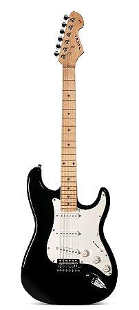 Guitarra Vogga Stratocaster Preto VCG 601 (SEMI-NOVA)
