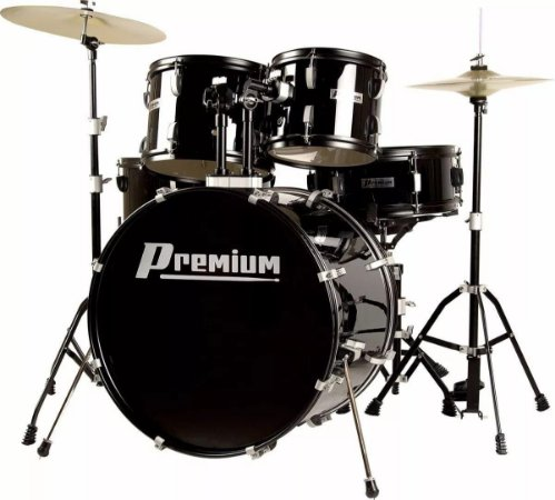 Bateria Acústica Premium PREMIUM DX720 BK Preta