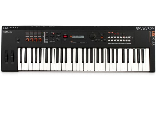 Teclado Sintetizador Yamaha MX61Bk