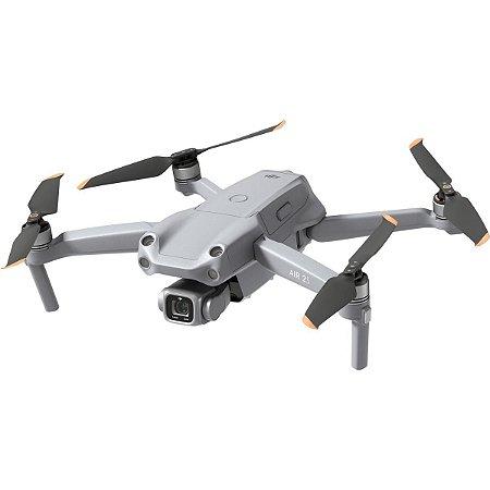 Drone DJI Air 2S Fly More Combo - Cinza - Wifi com GPS Integrado 3 Baterias Retenção de Altitude 31 Min. de Voo com Auto Retorno 72Km