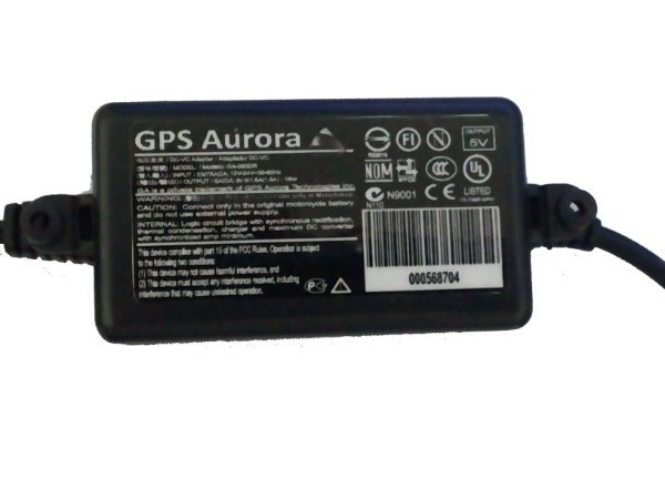 """Carregador Gps Aurora para Moto Duas Rodas Orange 350 E 360m 3.5"""""""