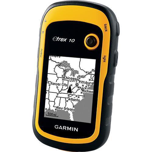 GPS Portátil eTrex 10 Garmin à Prova D'Água e com Bússola - Retire!