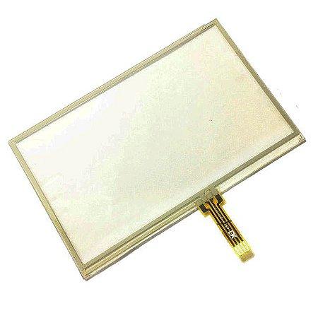 Tela touch GPS Quatro Rodas 4.3