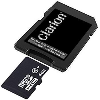 Cartão Clarion para Central Multimídia NX-501BB 2019-2020-2021