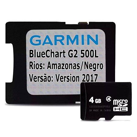 Carta Náutica Garmin Bluechart G2 500L - Rios: Amazonas/Negro/Solimões