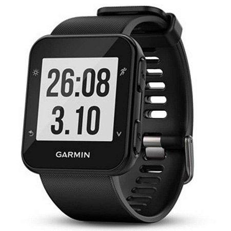 Relógio Esportivo Garmin Forerunner 35 Preto e Frequencímetro Cardíaco