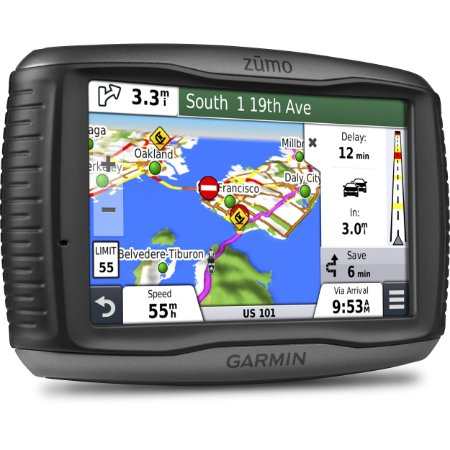 "GPS Garmin Zumo 595LM para Motocicleta tela de 5.0"" Bluetooth"