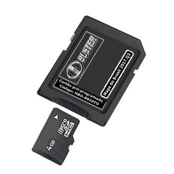 Cartão Hbuster 2019 Multimídia Toyota Hilux SD Card HBO-8920