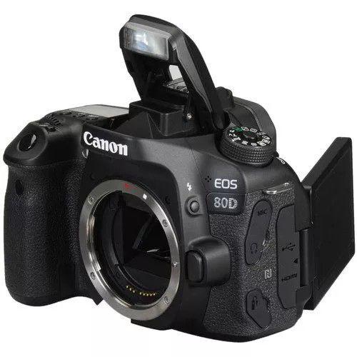 Câmera Digital Canon EOS 80D Corpo 24.2MP Full HD Wi-Fi