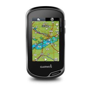 GPS Esportivo Garmin Oregon 750T com case - 7GB Touchscreen com Wi-Fi  e Mapa Topoactive America do Sul 2020