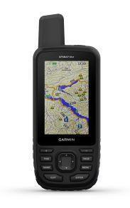 "GPS Garmin GPSMap 66ST Preto tela de 3,0"" 16GB NMEA 0183 + IPX7 - Mapa 2021 do Brasil - Lançamento"