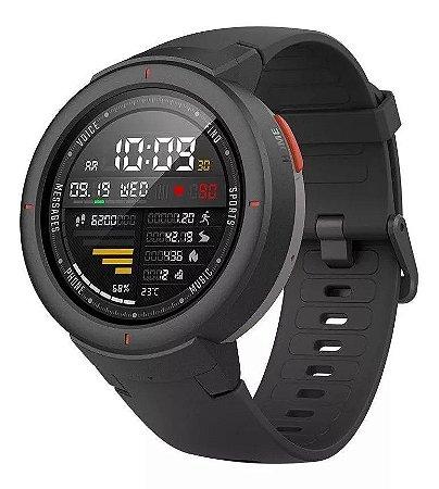 Smartwatch Xiaomi Amazfit Verge IOS Android GPS - Preto
