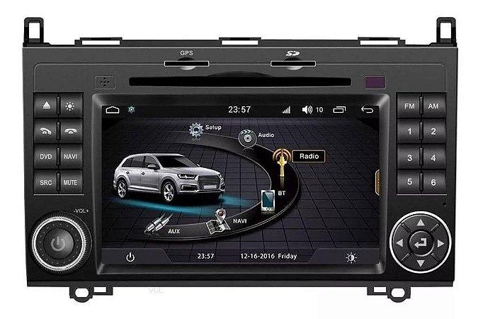 "Central Multimidia Winca S170 Mercedes Classse A/B200 L068D Sprinter 2014-2019 Android 6.0 Tela 7"""