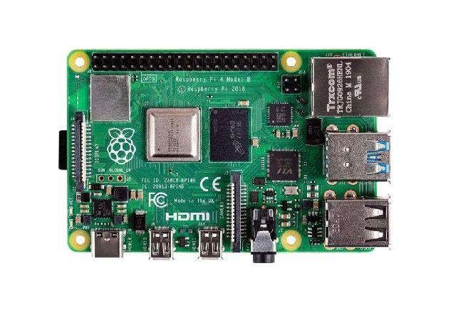 Placa Raspberry Pi 4 Model B 1.5Ghz 4GB RAM Video 4K