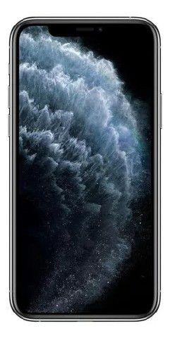 "Apple iPhone 11 Pro Max Prata A2218 64GB IOS13 4GB + 3 Cameras 12MP - Tela 6.5"" Retina"