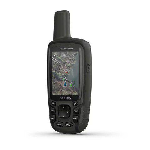 Gps Portátil Garmin Gpsmap 64CSX Altimetro Barométrico com Camera e 8GB Interno + opções Marítimas - Mapa TOPO SA 2020.10