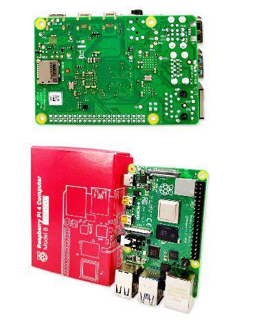 Placa Raspberry Pi 4 Model B 1.5Ghz 1GB RAM Video 4K