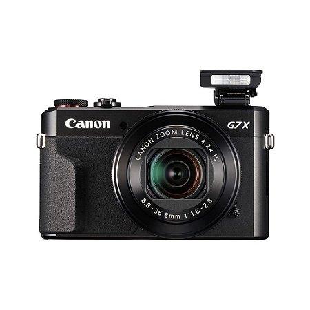 Camera Canon Powershot G7X Mark II - Preto - Grava Lives para Blogueiros e Youtubers