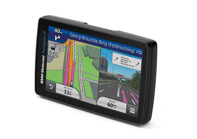 GPS GARMIN Navigator VI BMW Motorrad Series - Exclusivo com Atualização da América do Sul 2021