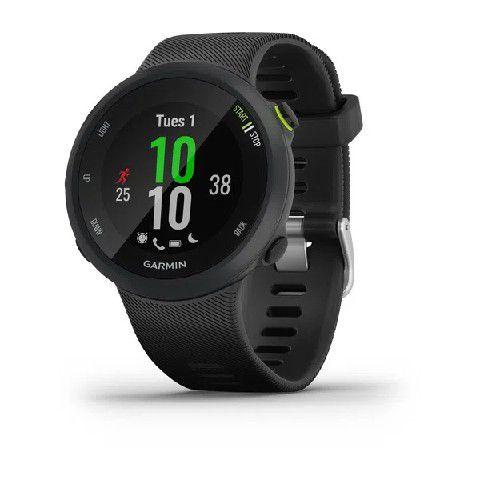 Relógio Esportivo Garmin Forerunner 45 Preto Bluetooth Ant+ Glonass e Frequencímetro Cardíaco