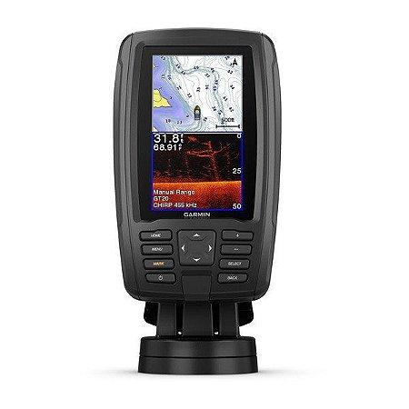 "GPS Garmin Echomap Plus Garmin 43CV Tela de 4,3"" com Transdutor GT-21"