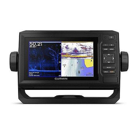 "GPS Garmin Echomap 63CV Plus HD Tela de 6.3"" com Transdutor GT20-TM"