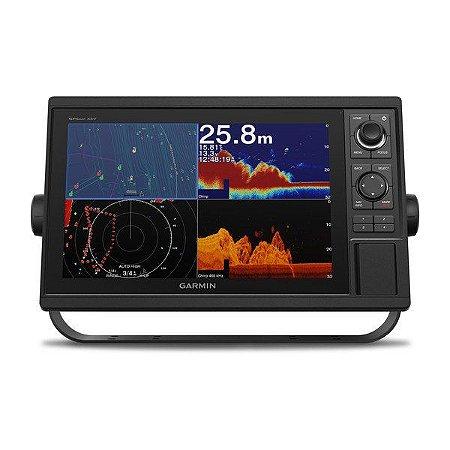"""GPS Garmin GPSMap 1242XSV Sonar com Tela de 12"""" e Transdutor + Versão Combo Bluechart G2 2020.0"""