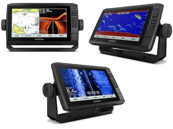 "GPS Garmin Echomap 93CV Plus Ultra HD Tela de 9"" com Transdutor GT56UHD-TM"