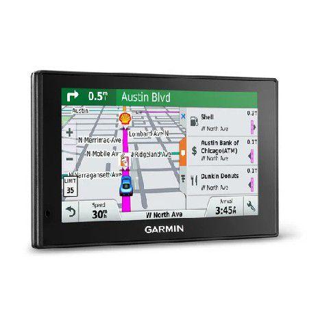 GPS Automotivo Garmin DriveSmart 60 Comando de Voz com Mapa do Brasil e Radares 2020