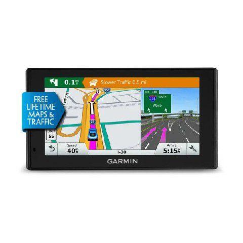 GPS Automotivo Garmin DriveSmart 60 Comando de Voz com Mapa da America do Norte 2021.20