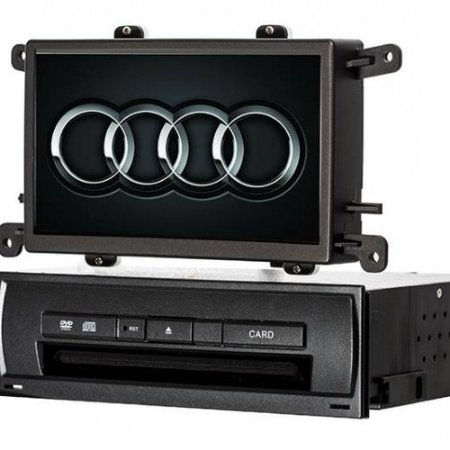 Central Multimidia Audi A4 Booster 2008-2012 com Camera de Ré/Bluetooth/TV Digital e Mapa 2020